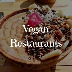 Vegan restaurants