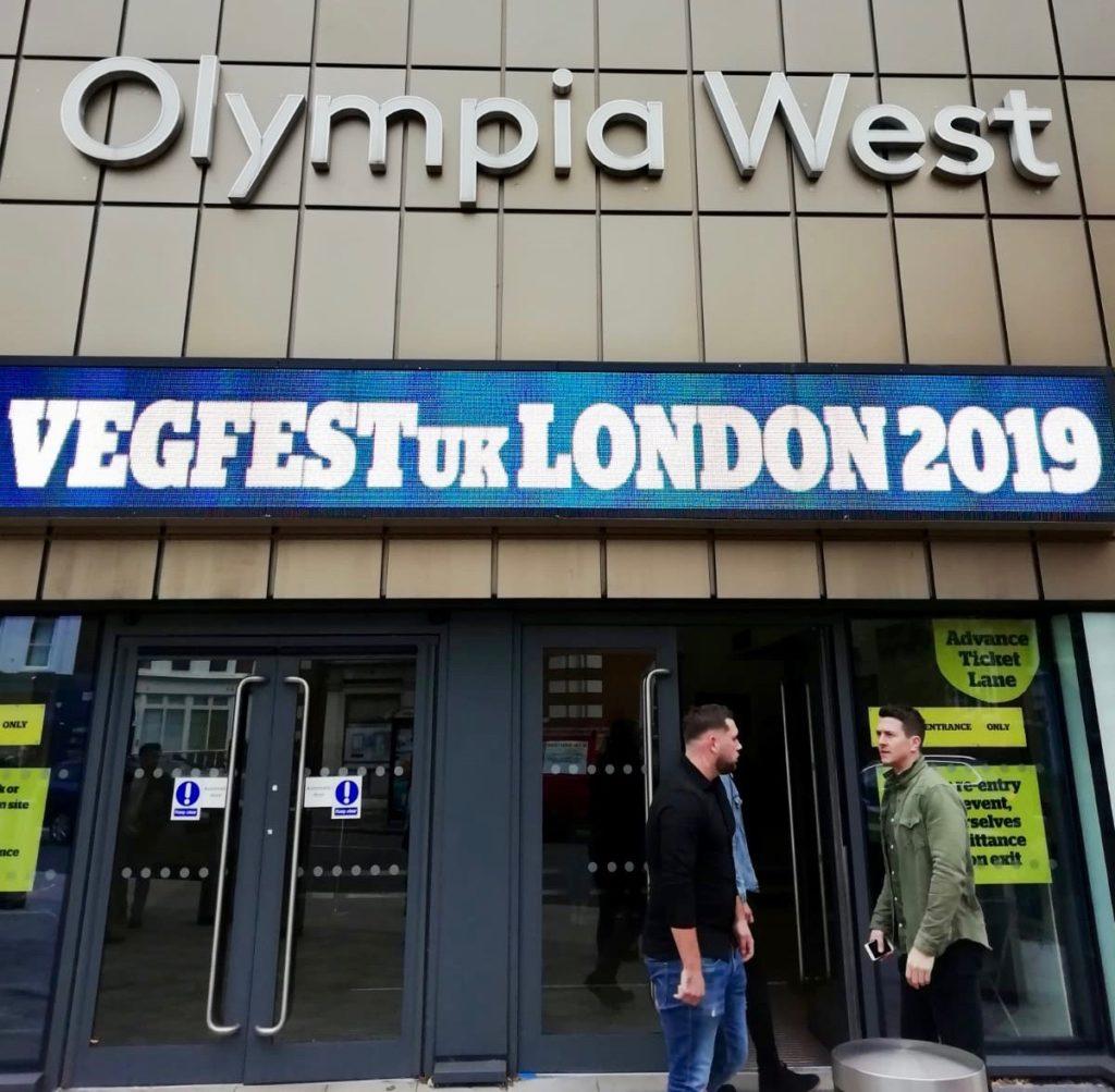London vegfests 2019 at Kensington Olympia