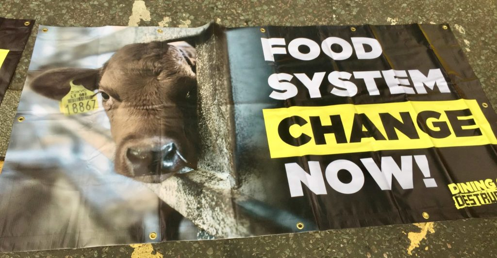Food System Change Now! banner