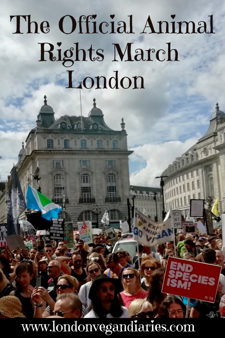 The Official Animal Rights March London - Pinterest Pin