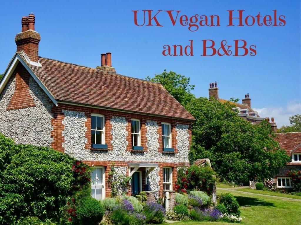 Vegan hotels and B&Bs in the UK