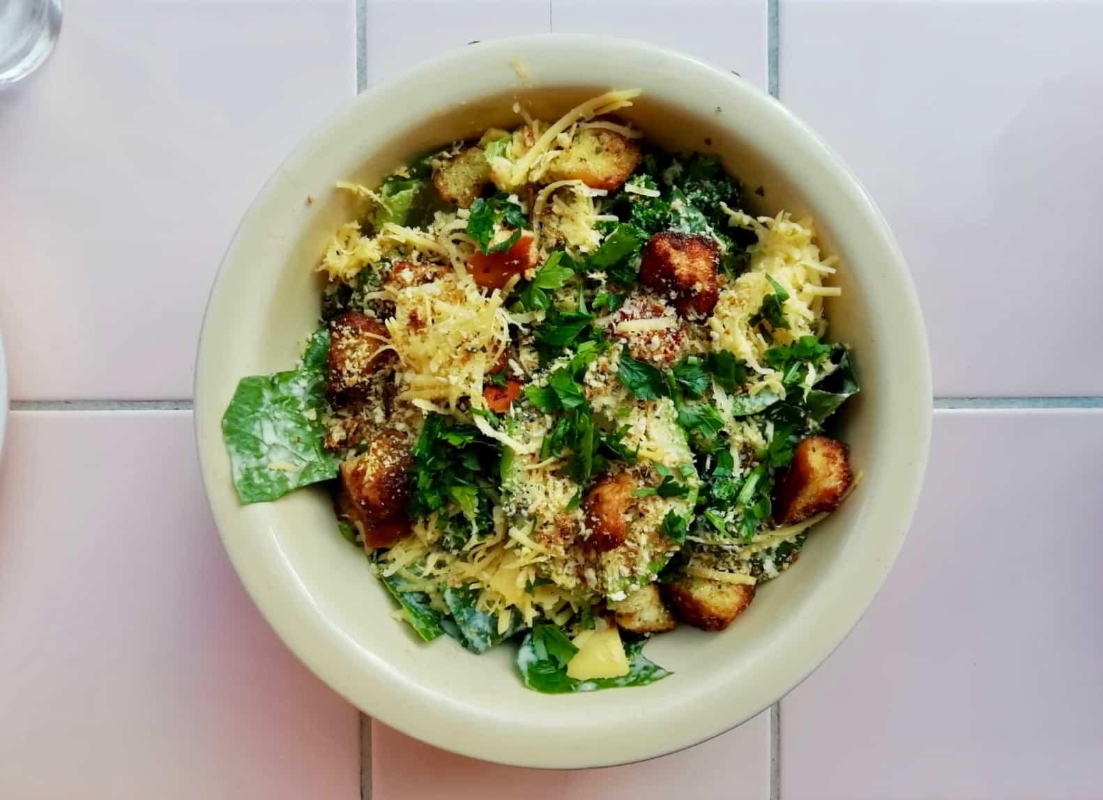 Vegan Caesar Salad from Genesis London