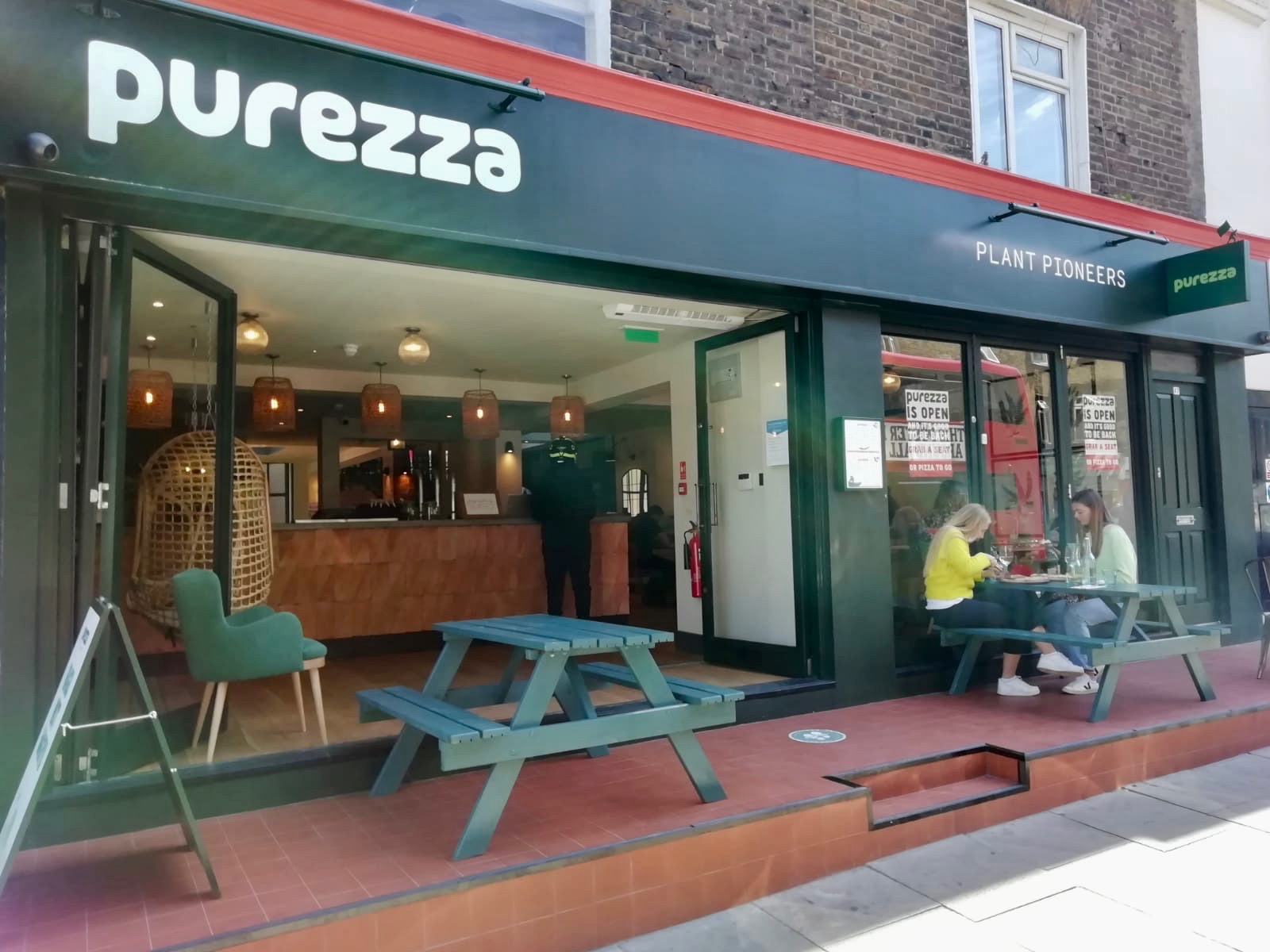 Purezza restaurant in Camden, London