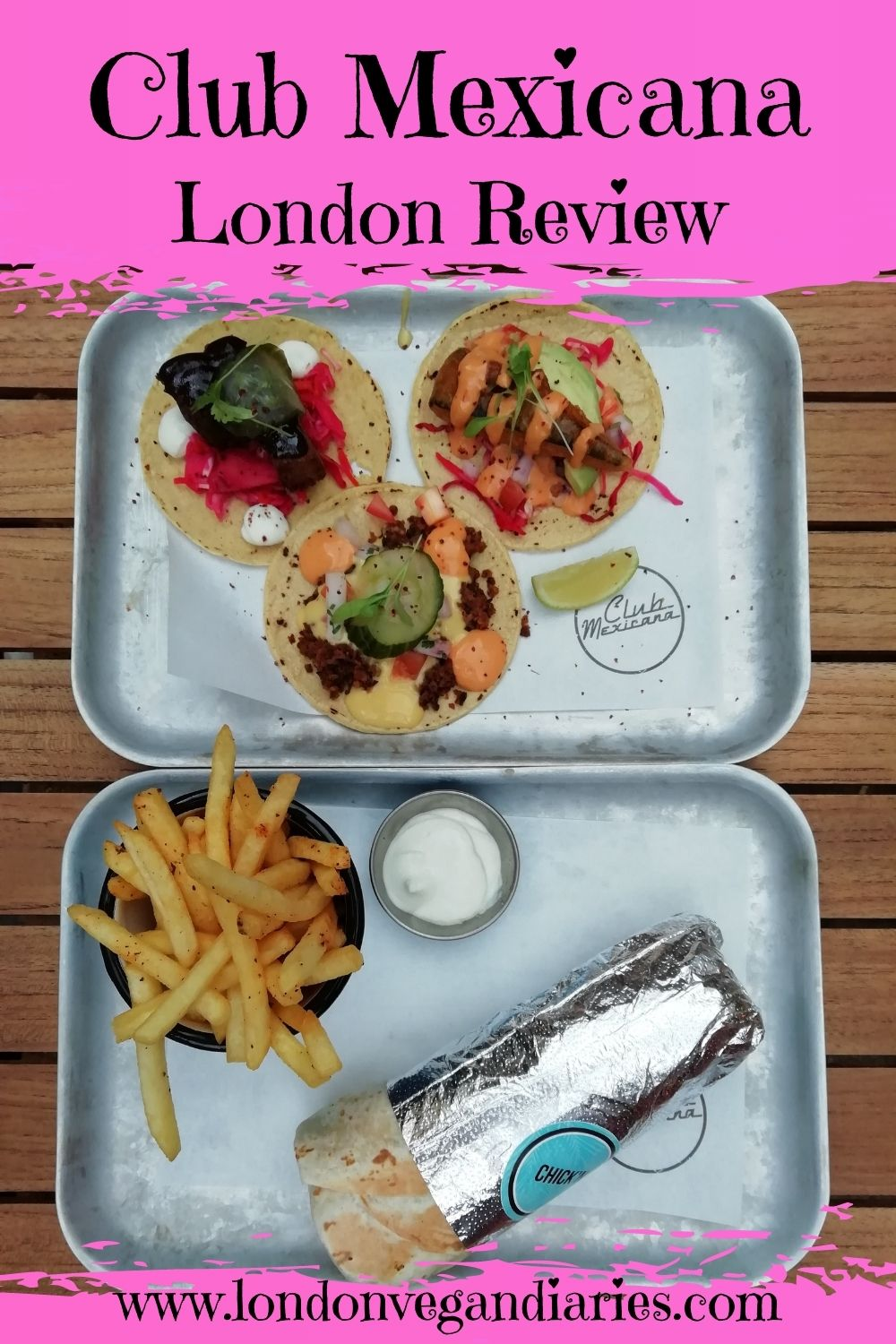 Club Mexicana London Review Pinterest Pin